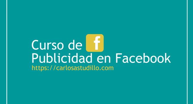 Curso de Publicidad en Facebook
